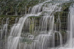 Multy talló caídas del agua Fotografía de archivo