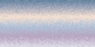 Multycolor geometric background. Triangular geometric background in cold colors Royalty Free Stock Photography