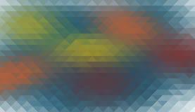 Multycolor geometryczny tło Obrazy Stock
