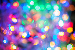 Multycolored abstract bokeh Stock Images