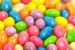 Multycolored sweet bright dragee background Royalty Free Stock Images