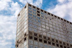 High rise building under construction. royalty free stock photography