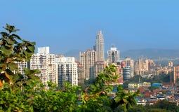Mulund är en förort av Mumbai Royaltyfri Fotografi