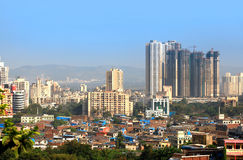 Mulund är en förort av Mumbai Royaltyfria Foton