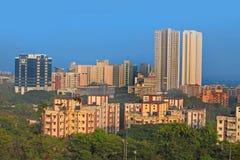 Mulund пригород Мумбая стоковое изображение