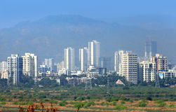 Mulund city in Mumbai Royalty Free Stock Photos