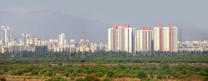 Mulund stad i Indien Royaltyfri Fotografi
