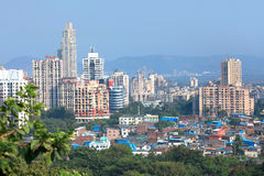 Mulund west, suburb of Mumbai Royalty Free Stock Photo