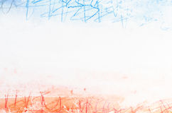 Mulyicolored watercolor painted background Stock Images