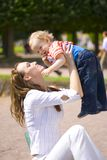 Mum and child Royalty Free Stock Photography