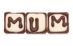 Mum chocolates Stock Photography