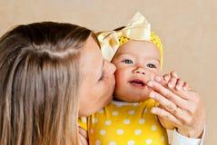 Mum com o bebê Imagem de Stock