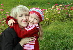 Mum and daughter Royalty Free Stock Photography