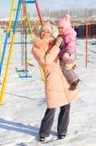 Mum with a daughter Stock Photos