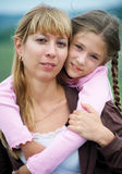 Mum and daughter Royalty Free Stock Images
