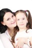 Mum and the daughter Stock Photos