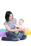 Mum  with daughter. Stock Photography