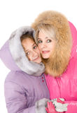 Mum and daughter Stock Photography