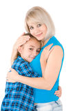 Mum with daughter Royalty Free Stock Photo