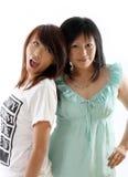 Mum and daughter having fun Royalty Free Stock Photos