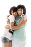 Mum and daughter having fun Royalty Free Stock Images