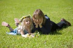 Mum e filha fotos de stock royalty free