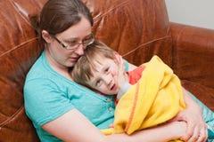 Mum e filho Imagens de Stock Royalty Free