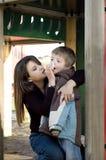 Mum e filho Fotos de Stock