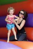 mum en dochter Royalty-vrije Stock Afbeelding