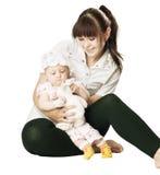 Mum en dochter Royalty-vrije Stock Foto's