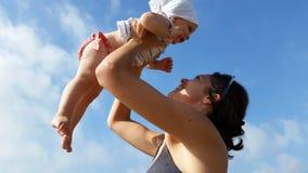 Mum en zoon Royalty-vrije Stock Fotografie