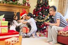 Mum för glad jul! royaltyfria bilder