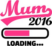 Mum 2017 is loading. Vector royalty free illustration