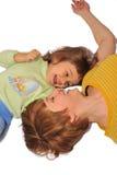 Mum met dochter Royalty-vrije Stock Foto's