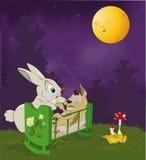 mum rabbit small Ελεύθερη απεικόνιση δικαιώματος