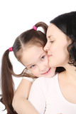Mum and the small daughter Royalty Free Stock Photo