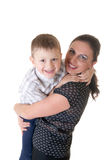 Mum with the son Royalty Free Stock Images