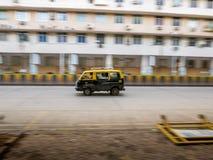 mumbai出租汽车 库存照片