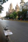 mumbai街道 免版税图库摄影