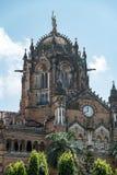 mumbai终点维多利亚 免版税图库摄影