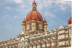 网关印度mumbai 免版税库存图片