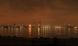 Mumbai across the bay Stock Photo