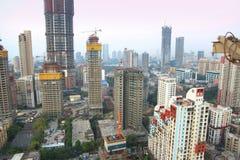 Mumbai aerial view Stock Image