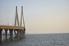 Mumbai Bandra Worli Rajiv Gandhi Sea Link Stock Photography