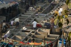 Mumbai (Bombay) Dhobi Ghats imágenes de archivo libres de regalías
