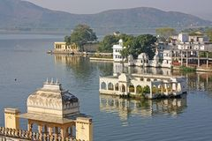 Mumbai capital of India skyline royalty free stock image