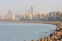 Mumbai capital of India skyline stock images