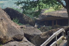 Mumbai caves Royalty Free Stock Image