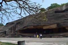 Mumbai caves Stock Image