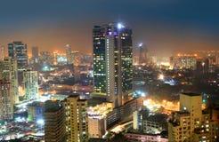 Mumbai city in night time Stock Images